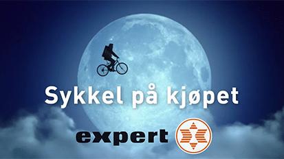 Sykkel på kjøpet reklame 2015
