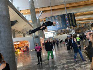Gardemoen åbning af ny terminal