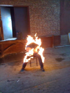 Musikvideo burn