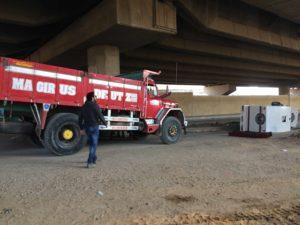 Lastbilstunt Egypten
